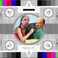 development concept - ObeyTV - a play on SkyTV's testcard