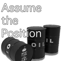 concept - assume the position - they got you over a barrel